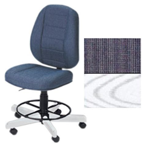 koala sewing chair koala sewcomfort chair sapphire cushion white ash base