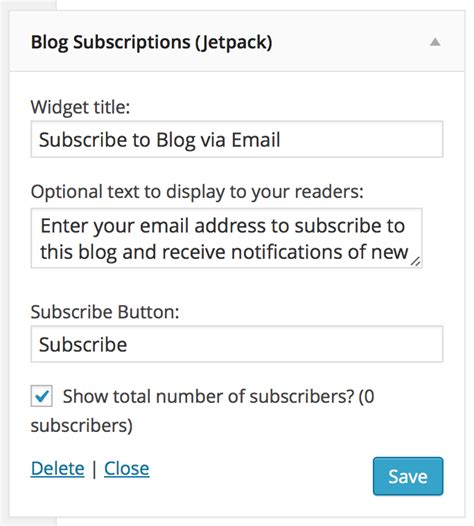 how to set up a blog for beginners mahalocom how to set up email subscriptions for your blog with jetpack