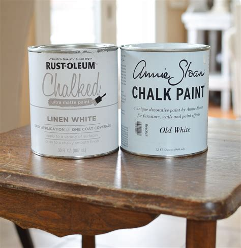 How To Clean Kitchen Cabinets Before Painting Annie Sloan Chalk Paint Vs Rust Oleum Chalked Paint