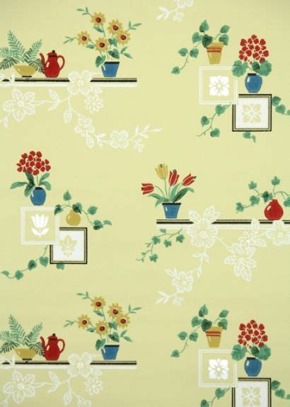 vintage kitchen wallpaper for the home