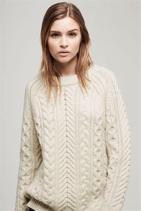 Roundhand Sweater Sweater Rajut 1 valene pullover rag bone k n i t t i n g