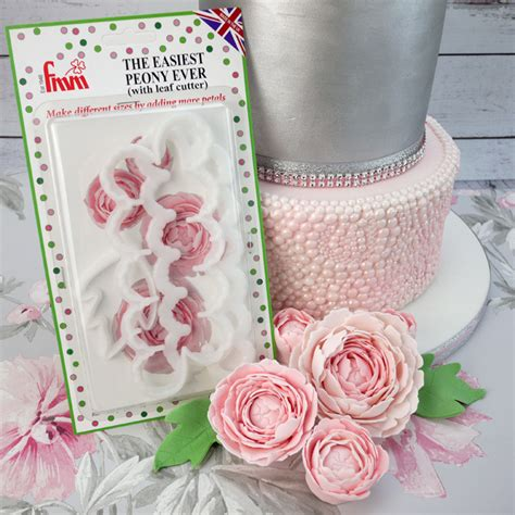 Peony Leaf Cutters Set fmm the easiest peony cutter set with leaf cutter