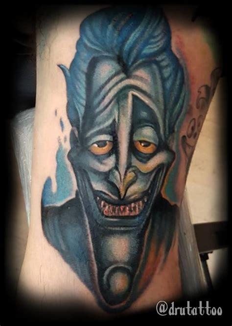 hades tattoo drew siciliano tattoos color hades