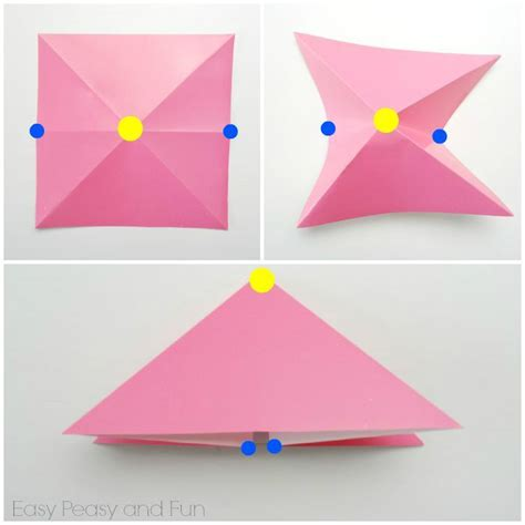 Origami Fish Tutorial - easy origami fish origami for origami easy peasy
