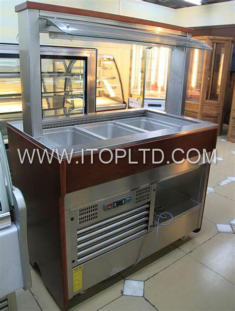Refrigerated Bar Top by Commercial Refrigerated Counter Top Salad Bar Buy