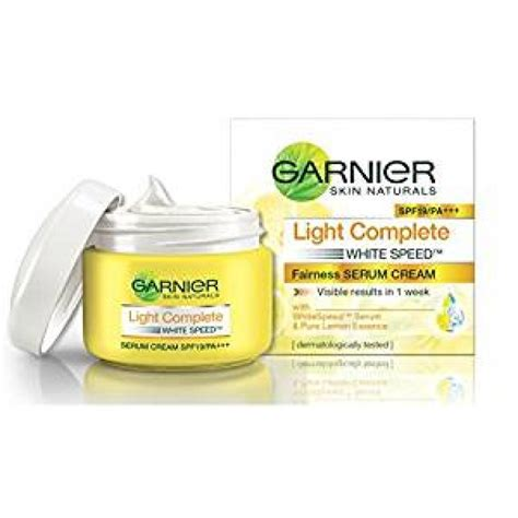 Garnier Serum Spf garnier skin naturals light complete spf19 fairness serum