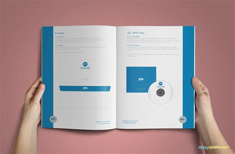 dvd booklet template 15 professional brand guidelines templates bundle