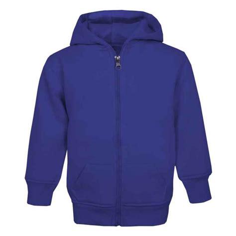 Jaket Hoodies Juventus Blue kid s zip up hoodle in royal blue by wholesale clothing