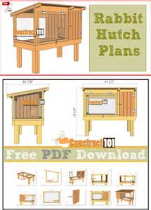 plans to build a rabbit hutch for outside best 20 rabbit hutches ideas on