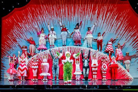 colorful cast shines in grinch musical at chicago