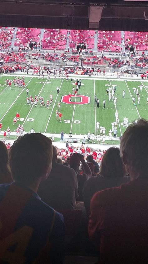 Section 20b by Ohio Stadium Section 20b Rateyourseats