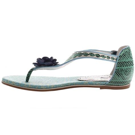 flat teal shoes afterhours in teal blue flat sandals s shoes by