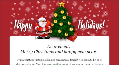 email xmas cards business action plan template business