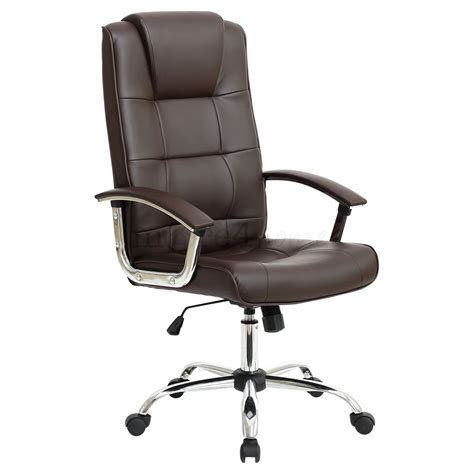 high desk office chair grande high back executive leather office chair computer