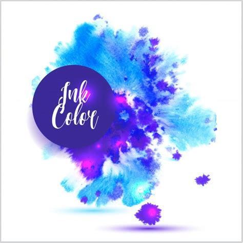 ink color ink color background vector free