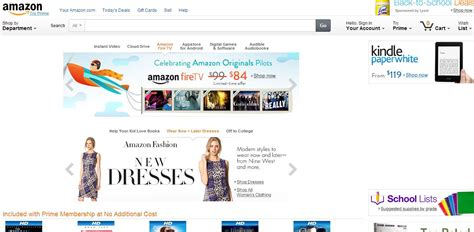 popular on amazon best online shopping websites a comprehensive list