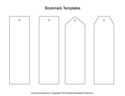 How To Make A Book Out Of Printer Paper - best 25 bookmark template ideas on printable