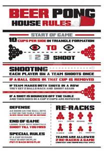 beer pong rules by fosterding on deviantart