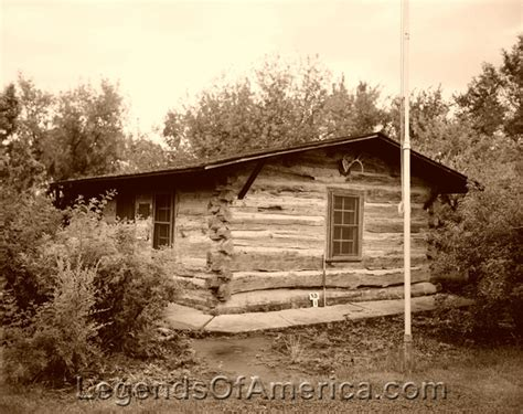 Maltese Cross Cabin by Legends Of America Photo Prints Theodore Roosevelt Nd