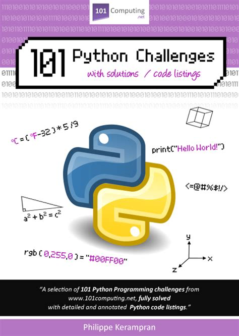 python programming challenges 101 python challenges with solutions code listings 101