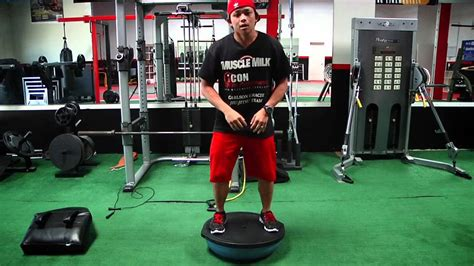 fast fitness stability with a bosu