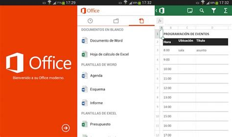 android office microsoft lanza oficialmente office para android