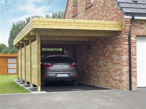 carport selber bauen mehr als 70 ideen und - Carport Holz Bauen