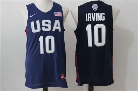 Jersey Swingman Usa Blue Kyrie Irving cheap olympics usa basketball jerseys replica olympics usa