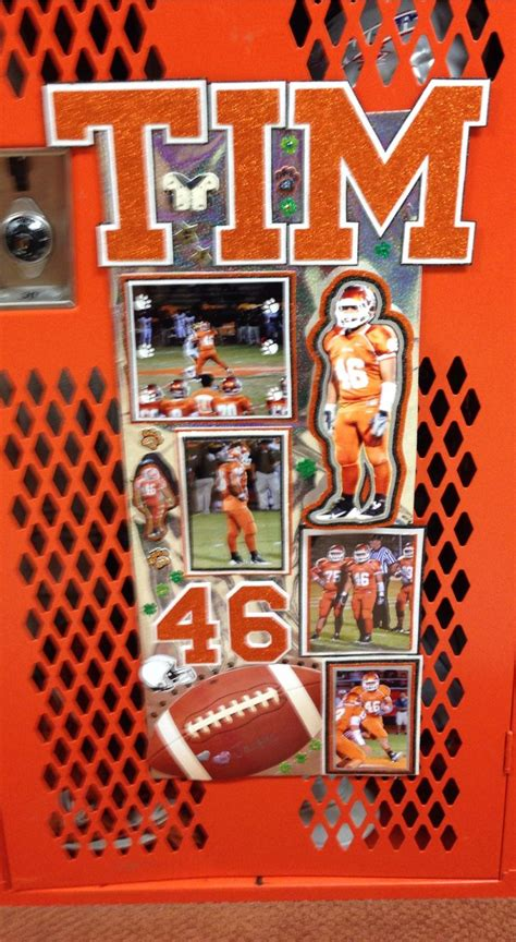 locker decoration made by jackie ahs cheer