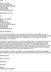 pastor cover letter sample the best letter sample