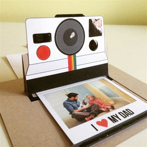 polaroid pop up card template scraparizate dia padre pop up polaroid