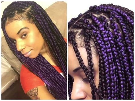 box braids with 2 packs of hair 1 simple way you can limit breakage while wearing box