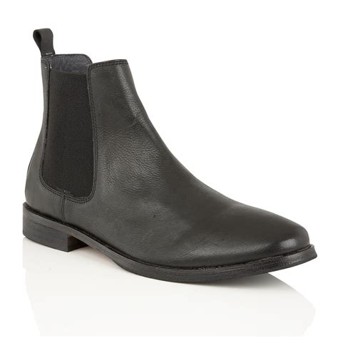black leather chelsea boots buy s frank wright omar black leather chelsea boots