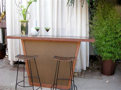 how to make an outdoor bar top build an outdoor bar with a pebble top hgtv
