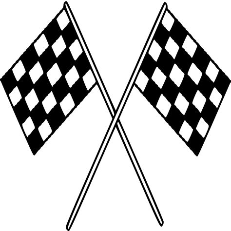 checkered flag bunting free printable checkered racing flags clipart best