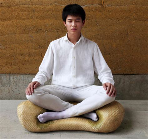 lotus meditation chair zen seating meditation chair makes proper sitting easy