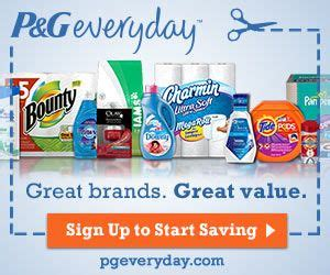 printable coupons uk no sign up p g brandsaver sign up for access to coupons sles
