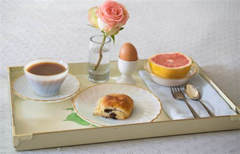 Handmade Breakfast - of gold creating a luxurious the breakfast