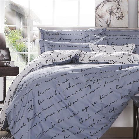 zip up bed covers love letter zip open king size bed set pillowcase quilt