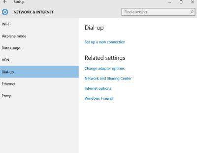 network  internet settings  windows