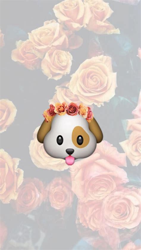 emoji dog wallpaper puppy image 3176877 by helena888 on favim com
