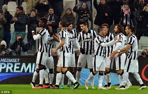 Seven Juventus Juventus 4 juventus 4 0 verona paul pogba and carlos tevez inspire a