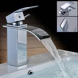 robinet lavabo salle de bain robinet cascade mitigeur lavabo pour vasque de cuisine et