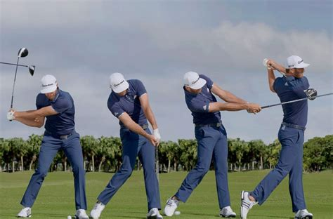 dustin johnson golf swing swing sequence dustin johnson australian golf digest