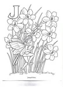 fairies in bloom a flower coloring book books 23 best coloring flower fairies images on