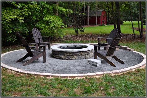 backyard fire pit ideas best 25 stone fire pit kit ideas on pinterest outdoor