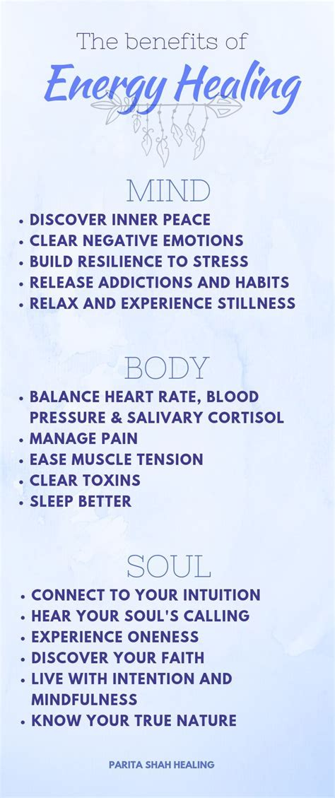discover  energy healing  support   benefits