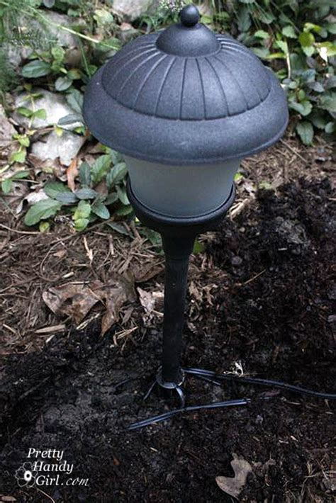 how to wire low voltage landscape lights how to install low voltage landscape lights pretty handy
