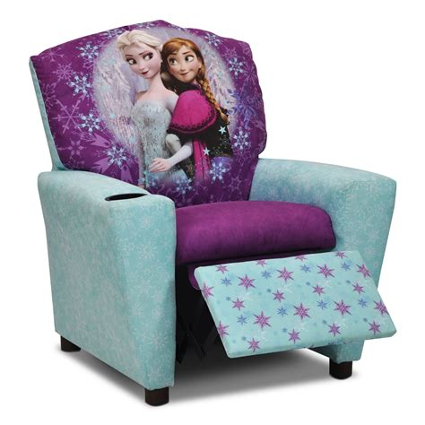children recliner living room furniture frozen kids recliner leon s