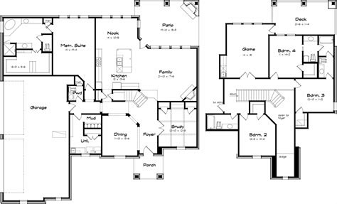 big family homes plans home design and style